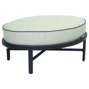 Oval Ottoman