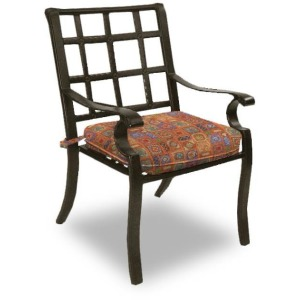 Cast Dining Chair With Seat Cushion