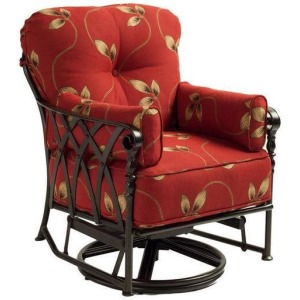 Cushion Swivel Glider