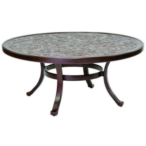 Vintage 42'' Round Coffee Table