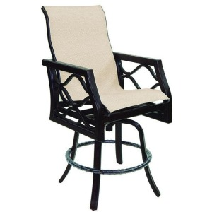 High Back Sling Counter Stool