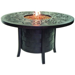 Classical Fire Pit Round Firepit Dining Table