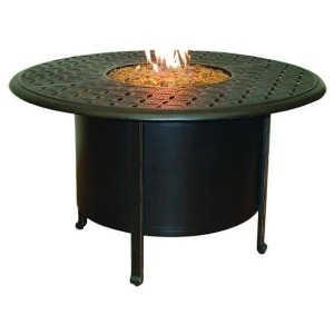 Sienna Fire Pit Round Firepit Dining Table