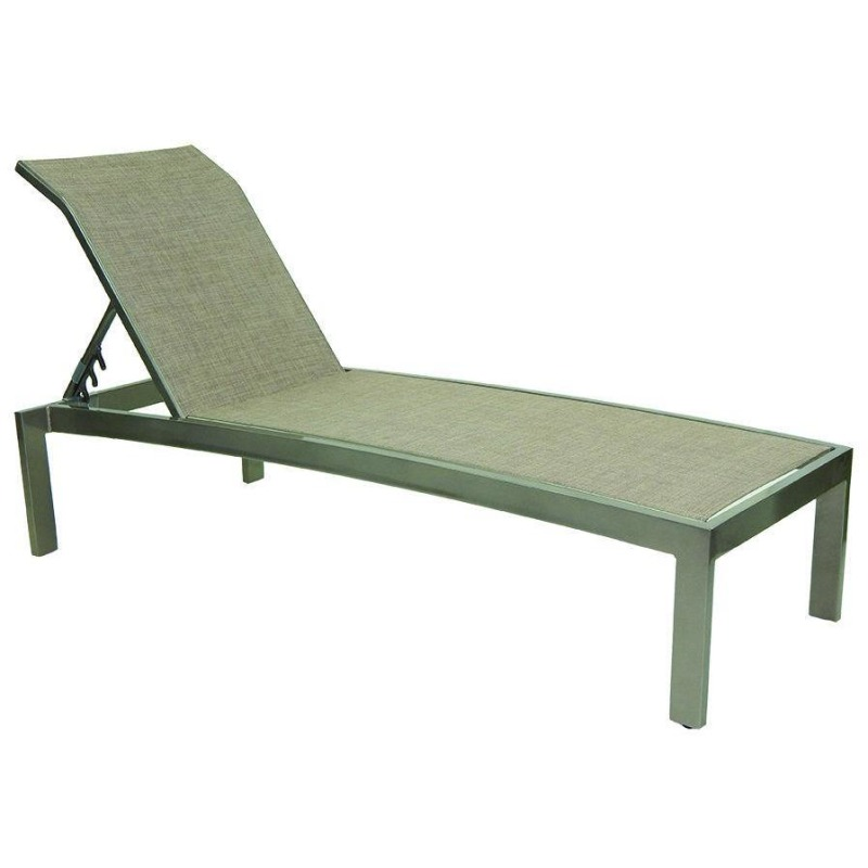Stackable Sling Chaise Lounge