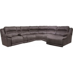 Braxton 6 PC Power Reclining Sectional