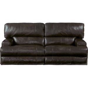 Wembley Power Headrest Power Lay Flat Reclining Sofa