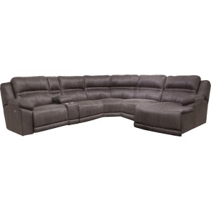 Braxton Charcoal Sectional