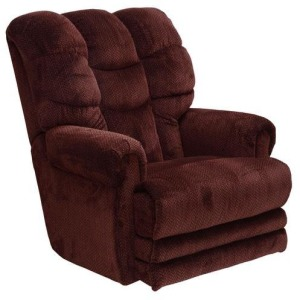 "Power ""Lay Flat\"" Recliner w/Ext Otto"