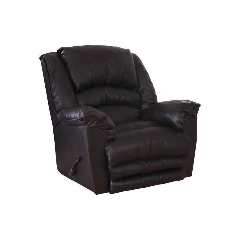 Chaise Rocker Recliner - Oversized X-tra Comfort Footrest