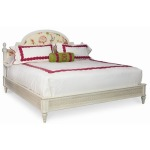 Charlotte Moss Atlanta Low Post Bed With Upholstered Headboard - King Size King