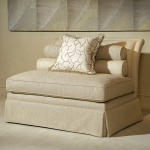 Century Signature Adair Armless Love Seat