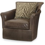 Century Leather Malibu Swivel Chair
