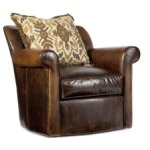 Bob Timberlake Upholstery Abby's Swivel Chair