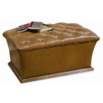 Century Signature Warren Tufted Storage Ottoman