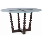 Artefact - Bobbin Dining Table Base For Glass Tops