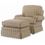 Century Home Elegance Reese Swivel Rocker Chair