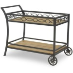 Candice Olson Outdoor - Palladian Drink Cart