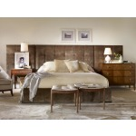 Thomas O'Brien Soho Bed Fully Uph Wings For Cal King Size California King