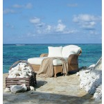 Oscar de la Renta Outdoor Conch Chaise