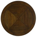 Tableaux Rustic Mahogany Dining Table Top - 60