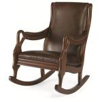 Bob Timberlake Upholstery Swan Island Rocking Chair