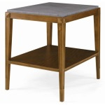Artefact - Lorrain Side Table With Stone Top