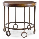 Bob Timberlake Home for Century Lamp Table With Metal Base