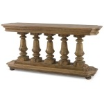 Archive Home and Monarch Balustrade Console Table