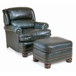 Century Leather Mountain Brook Pressback Chair