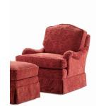 Century Home Elegance Griffin Swivel Rocker Chair