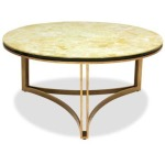 Lanna Home Round Cocktail Table