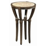 Andalusia OCCASIONAL TABLE  Powder Coated Aluminum