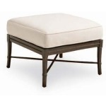 Andalusia ROYAL OTTOMAN  Powder Coated Aluminum