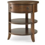 Another World by Bob Timberlake for Century Collection COMPASS CHAIRSIDE TABLE