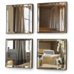 Archive Home and Monarch MINI MIRROR SET - Four Mirrors