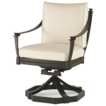 Swivel Rocker Dining Arm Chair