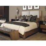 Mesa Mendoza Bed With Upholstered Headboard - King Size King