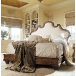 Caperana, Casa and Barcelona Collection BED WITH UPHOLSTERY HEADBOARD