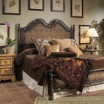 Caperana, Casa and Barcelona Collection METAL BED WITH UPH