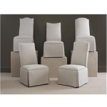 Century Chair CHANDER CURVED BACK WITH ARCH TOP CHAIR with casters