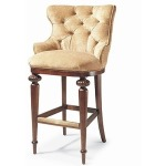 Century Chair TUFTED COUNTER STOOL