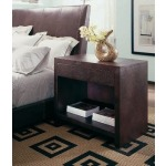 Century Classics Collection LEATHER NIGHTSTAND