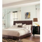 Century Classics Collection LEATHER PLATFORM BED