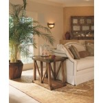 Century Classics Collection TRAPEZOID CHAIRSIDE TABLE