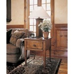 Century Classics Collection WHITE CLOUD PEAKS CHAIRSIDE TABLE