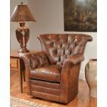 Century Leather Avery Swivel Chair