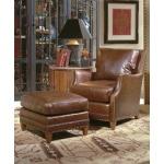 Century Leather Berwick Ottoman