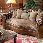Century Leather Chester Sofa