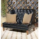 Century Leather Frazer Love Seat