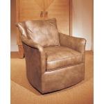 Century Leather Malibu Swivel Chair